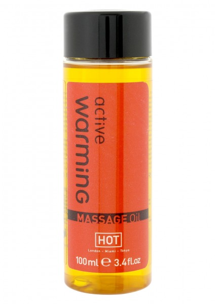 "HOT Massage Oil ""active warming"""